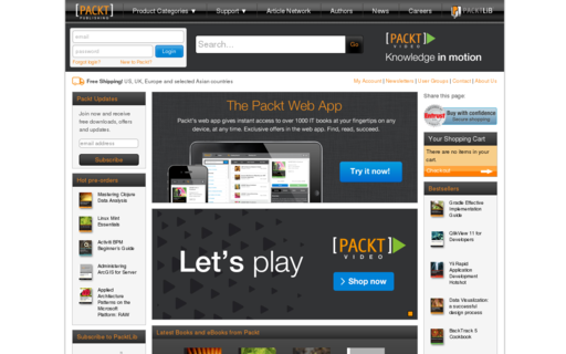 Access packtpub.com using Hola Unblocker web proxy