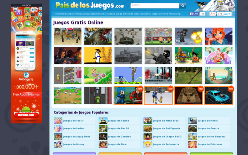 Access paisdelosjuegos.com using Hola Unblocker web proxy