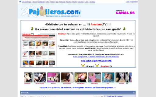 Access pajilleros.com using Hola Unblocker web proxy