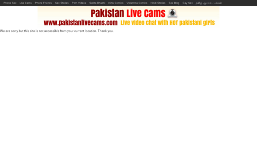Access pakistanlivecams.com using Hola Unblocker web proxy