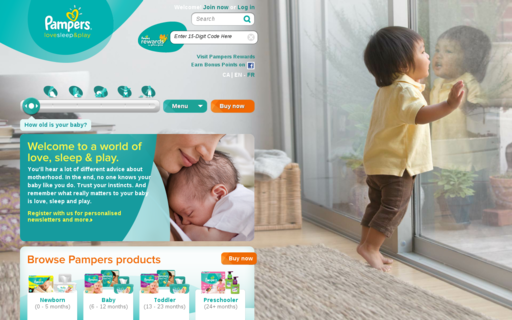 Access pampers.ca using Hola Unblocker web proxy