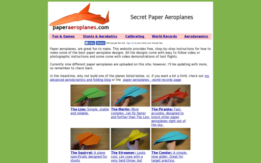 Access paperaeroplanes.com using Hola Unblocker web proxy
