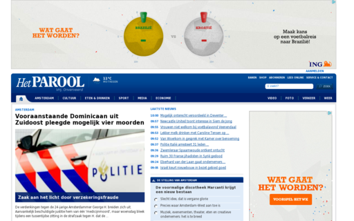 Access parool.nl using Hola Unblocker web proxy
