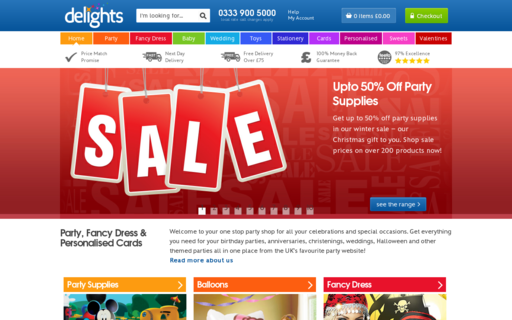 Access partydelights.co.uk using Hola Unblocker web proxy