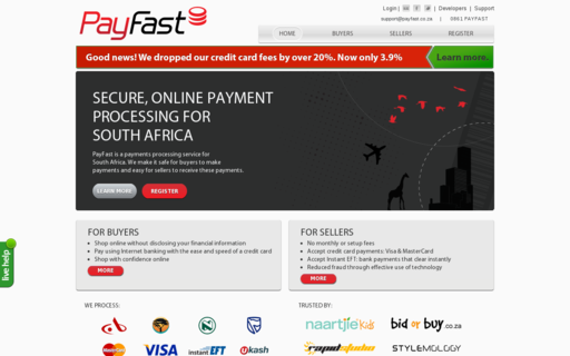 Access payfast.co.za using Hola Unblocker web proxy