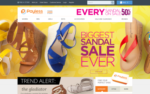 Access payless.com using Hola Unblocker web proxy
