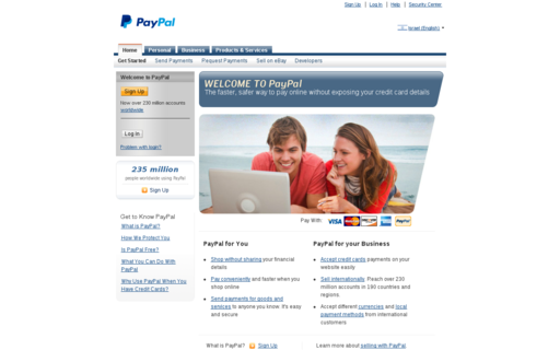 Access paypal-activate.com using Hola Unblocker web proxy