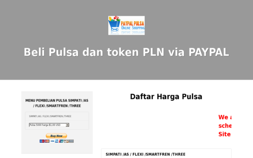 Access paypalpulsa.com using Hola Unblocker web proxy