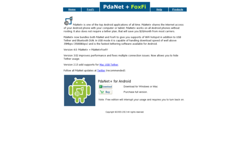 Access pdanet.co using Hola Unblocker web proxy