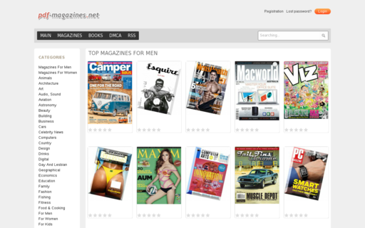 Access pdf-magazines.net using Hola Unblocker web proxy