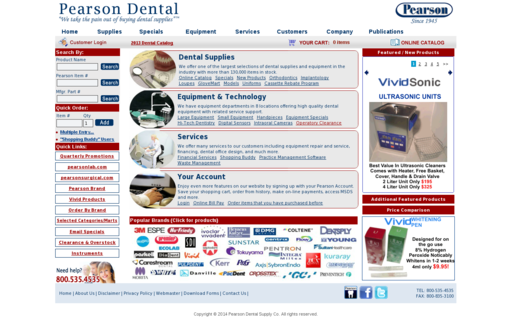 Access pearsondental.com using Hola Unblocker web proxy