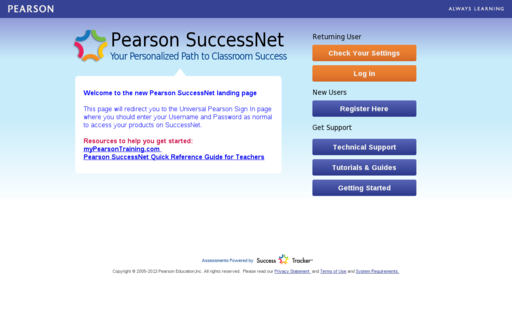 Access pearsonsuccessnet.com using Hola Unblocker web proxy