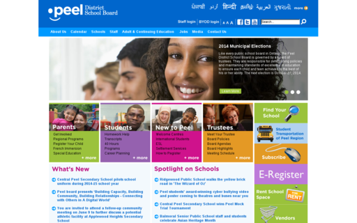 Access peelschools.org using Hola Unblocker web proxy