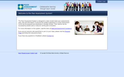Access peerassessment.com using Hola Unblocker web proxy