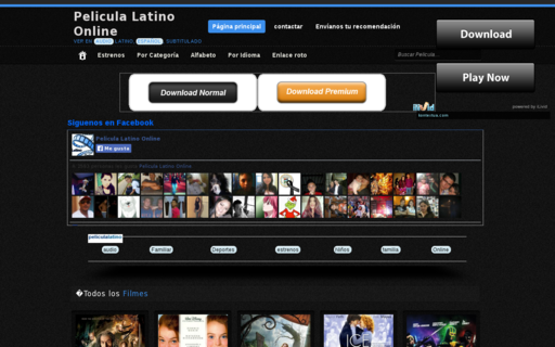 Access peliculalatinoonline.com using Hola Unblocker web proxy