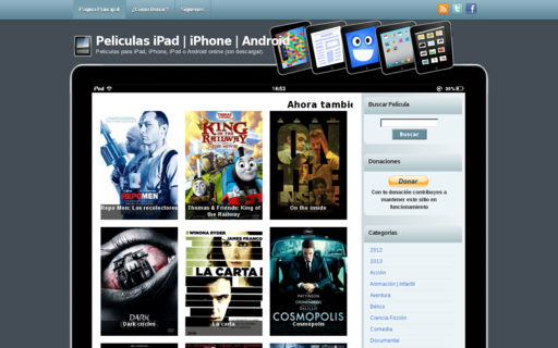 Access peliculasipad.com using Hola Unblocker web proxy