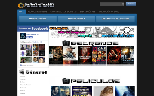 Access pelisonlinehd.com using Hola Unblocker web proxy