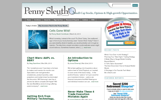 Access pennysleuth.com using Hola Unblocker web proxy