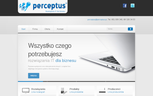 Access perceptus.com.pl using Hola Unblocker web proxy