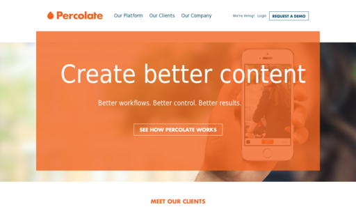 Access percolate.com using Hola Unblocker web proxy