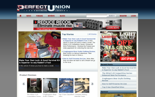 Access perfectunion.com using Hola Unblocker web proxy