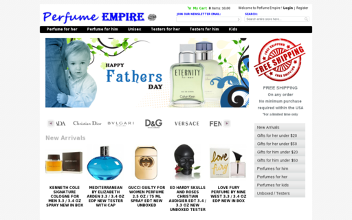 Access perfume-empire.com using Hola Unblocker web proxy