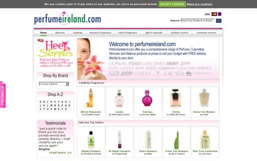Access perfumeireland.com using Hola Unblocker web proxy