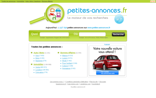 Access petites-annonces.fr using Hola Unblocker web proxy