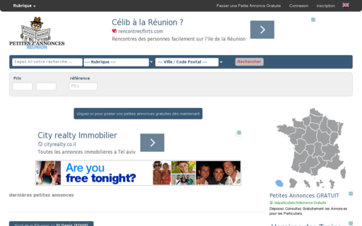 Access petites-z-annonces-reunion.re using Hola Unblocker web proxy