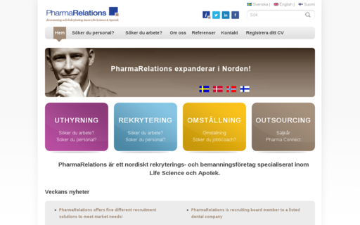 Access pharmarelations.se using Hola Unblocker web proxy