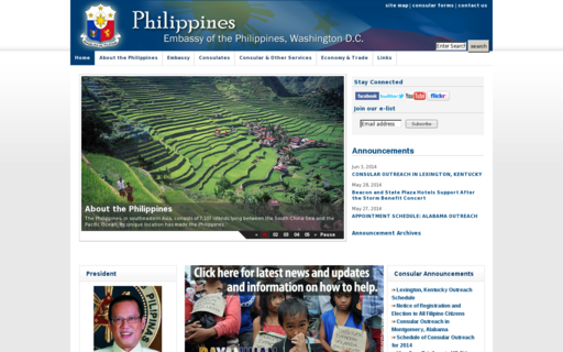 Access philippineembassy-usa.org using Hola Unblocker web proxy