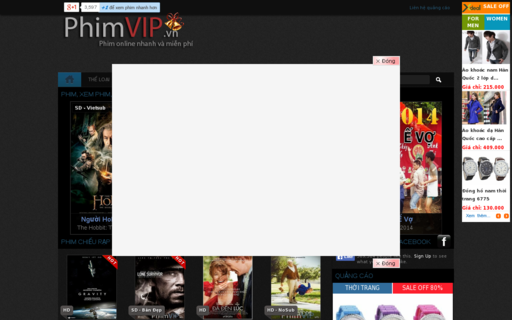 Access phimvip.vn using Hola Unblocker web proxy