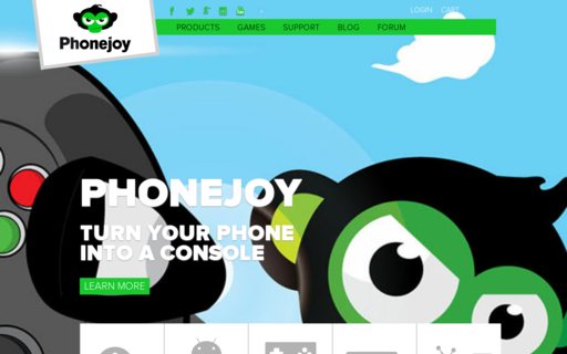 Access phonejoy.com using Hola Unblocker web proxy