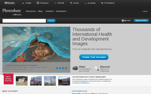 Access photoshare.org using Hola Unblocker web proxy