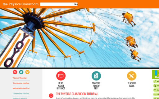 Access physicsclassroom.com using Hola Unblocker web proxy