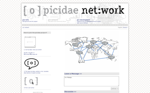 Access picidae.net using Hola Unblocker web proxy