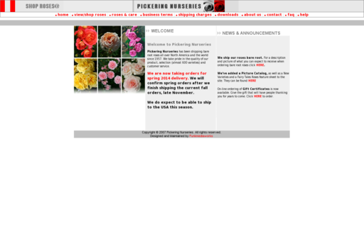 Access pickeringnurseries.com using Hola Unblocker web proxy
