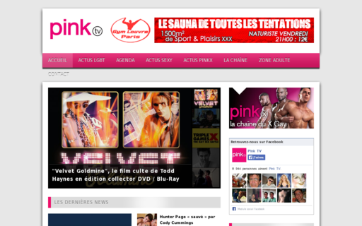 Access pinktv.fr using Hola Unblocker web proxy