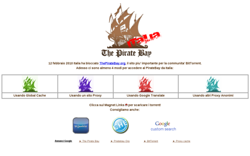 Access piratebayitalia.com using Hola Unblocker web proxy