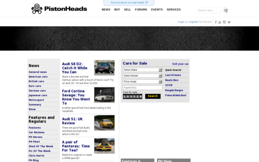 Access pistonheads.com using Hola Unblocker web proxy