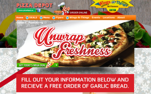 Access pizza-depot.com using Hola Unblocker web proxy