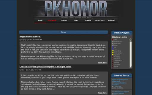 Access pkhonor.net using Hola Unblocker web proxy