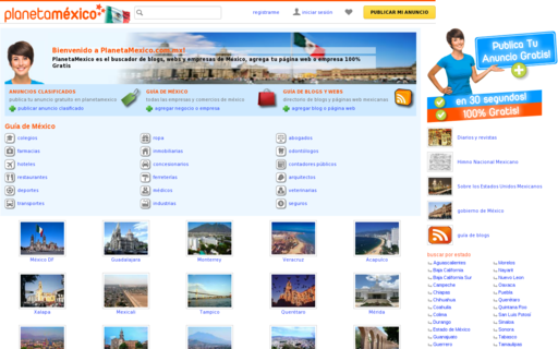 Access planetamexico.com.mx using Hola Unblocker web proxy