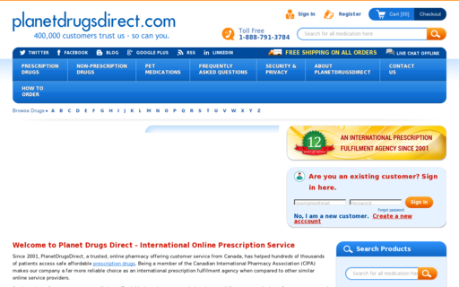 Access planetdrugsdirect.com using Hola Unblocker web proxy