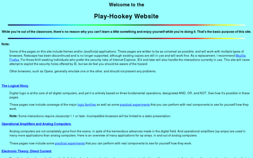 Access play-hookey.com using Hola Unblocker web proxy