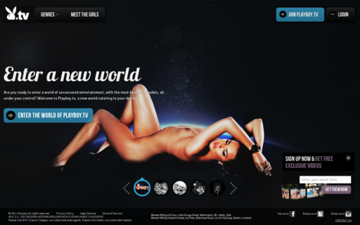 Access playboy.tv using Hola Unblocker web proxy