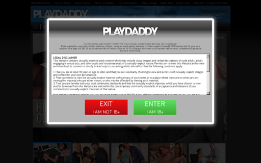 Access playdaddy.com using Hola Unblocker web proxy