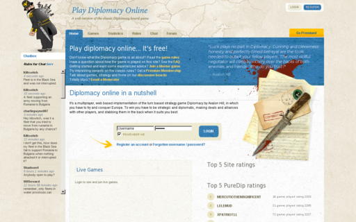 Access playdiplomacy.com using Hola Unblocker web proxy