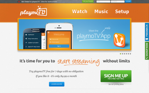 Access playmo.tv using Hola Unblocker web proxy
