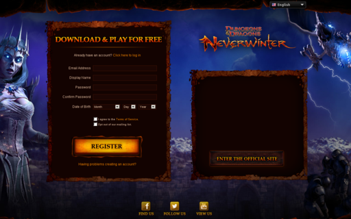 Access playneverwinter.com using Hola Unblocker web proxy
